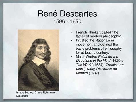 rene descartes was one of the most philosophers of