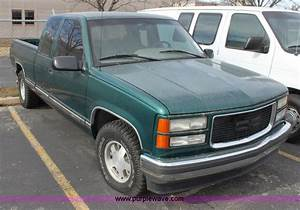 1996 Gmc Sierra 1500 Club Cab Pickup Truck