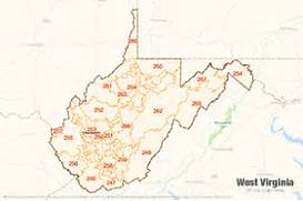 West Virginia Zip Code Map Bnhspine Com
