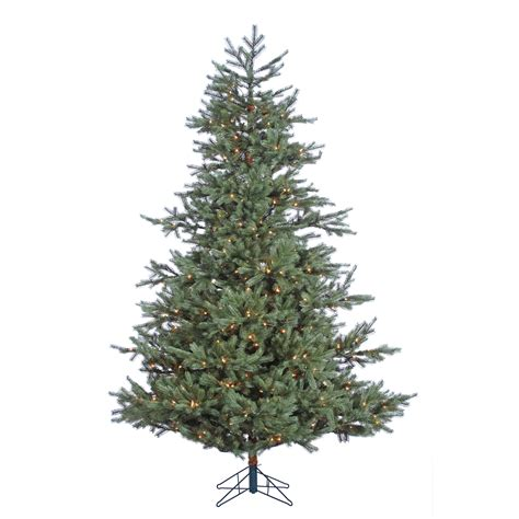 donner and blitzen tree donner blitzen incorporated 7 5 pre lit spruce tree with 600 clear lights