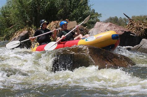 Boat Trip Vaal River by River Rafting Parys Team Building Parys Orange River