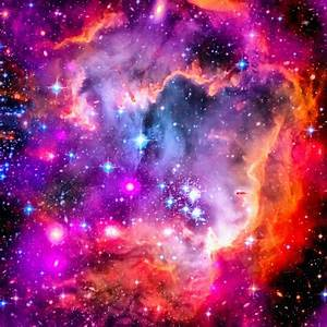 Space Image Small Magellanic Cloud Smc Galaxy Photograph ...