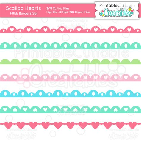 Scallop Border Vector at GetDrawings Free download