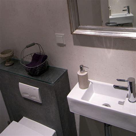 gaeste wc mit schiefer fliesen bad  baeder dunkelmann