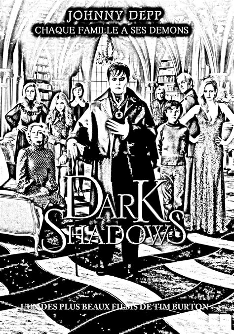 dark shadows movies adult coloring pages page