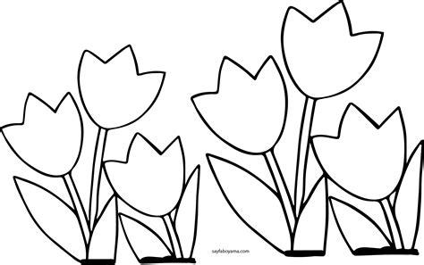 Lale Resmi Boyama Sayfasi Coloring Free To Print