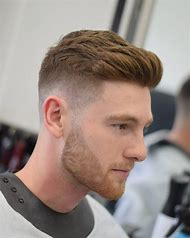 Short Haircut and Beard Trim