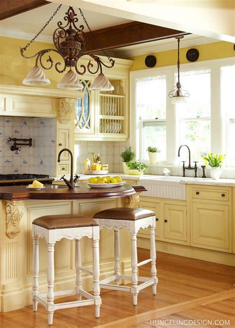 yellow country kitchen luxury kitchen 1900 s kitchen got a renovation the 1209