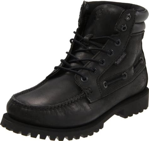Moofeat Tracking Boots Black timberland s oakwell 7 eye lace up boot black 7 5 w us