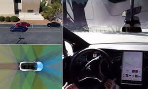 Get Tesla Cars Drive Themselves Gif