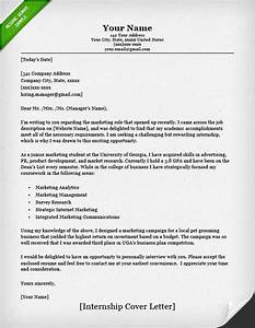 internship cover letter sample resume genius With samples of cover letters for internships