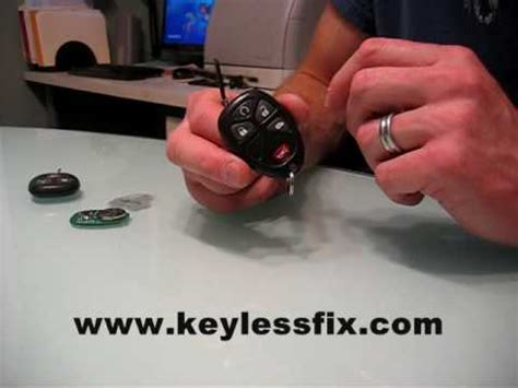 Remote Repair Keyless Fob Fix Keylessfix Button