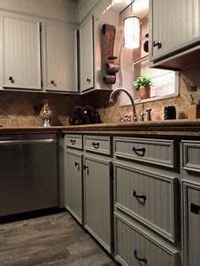 diy faux granite countertops via indi design design With kitchen cabinets lowes with papier peint dore