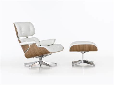 white chair with ottoman buy the vitra eames lounge chair ottoman white at nest