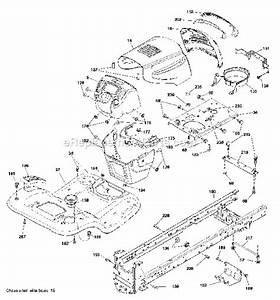 Poulan Pro 42 Inch Deck Diagram