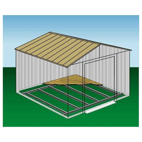 arrow shed floor frame kit for 10x12 and 10x14 fb1014