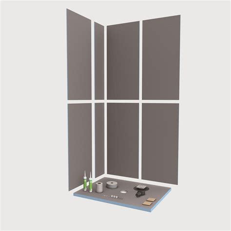 bathroom wall idea wedi fundo primo floor level shower element with point