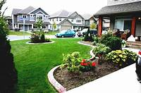 front yard garden ideas Affordable Simple Front Yard Landscaping Ideas Townhouse Amys ~ Cool Garden Ideas