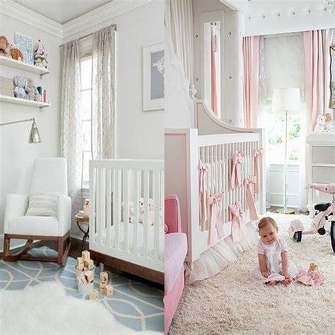 chambre princesse bebe une chambre bébé blanche design et classique à la fois