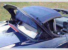 Porsche Boxster German A5 Convertible Top & Window Black