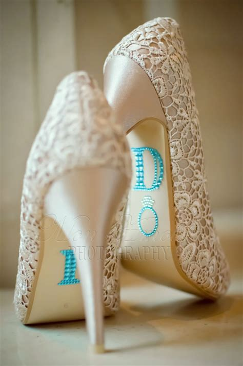 I Do Wedding Shoe Rhinestone Applique ♥ Unique Wedding