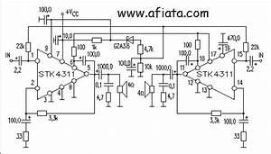 28w Audio Amplifier Circuit Using Stk4311