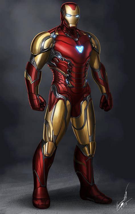 ArtStation - Iron Man Mark 85, Buyansanjaa Art