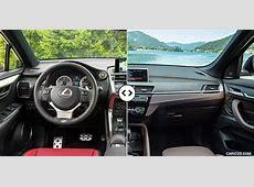 Lexus NX vs BMW X1 Interior, Cockpit Comparison #4
