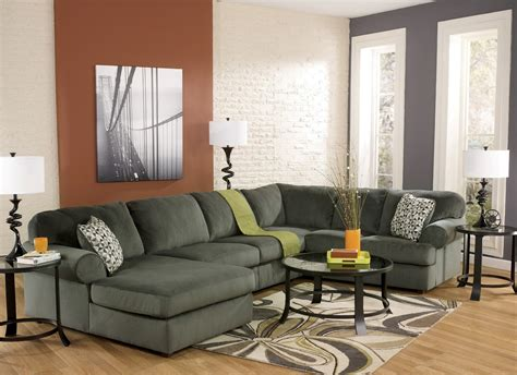 jessa place jessa place pewter left arm facing sectional from