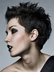 Short Faux Hawk Hairstyles for Women