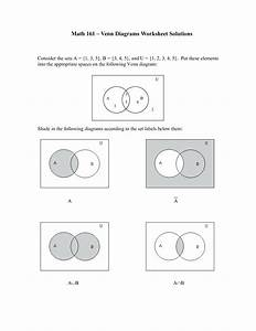 Venn Diagram Worksheets With Answers