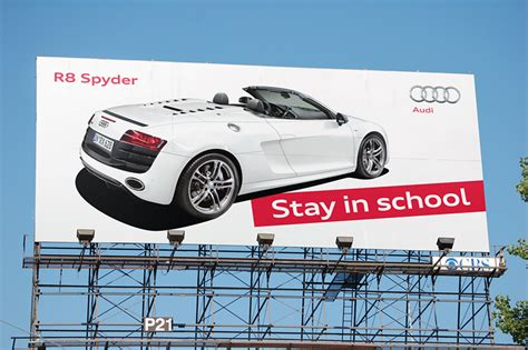 audi r8 ads audi r8 spyder stay in the hangline