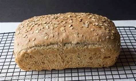 granary style loaf with sprouted red fife