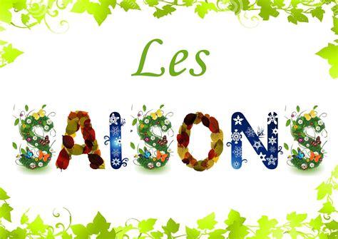 affichage des saisons les 4 saisons