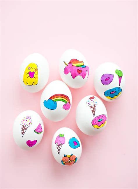 wonderful cute easter egg sticker art