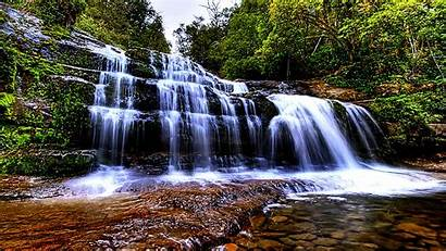 Wallpapers Screensavers Waterfall Living 1136