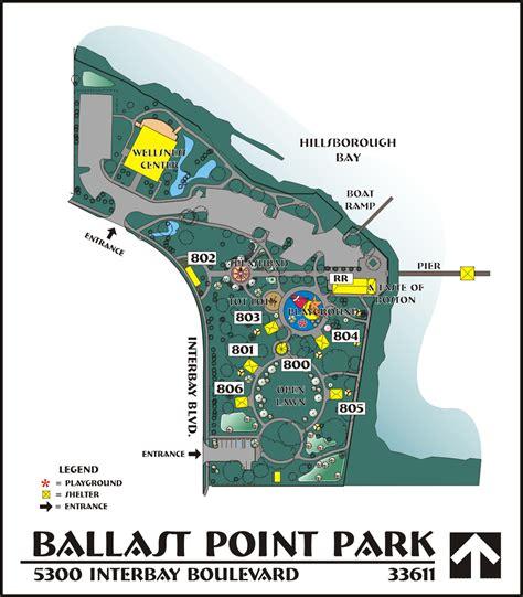 Modification Réservation Center Parc by Ballast Point Park Map City Of Ta
