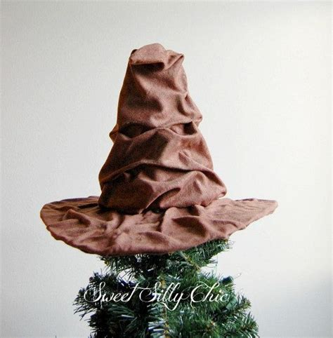 the sorting hat tree topper harry potter sorting hat