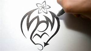 How to Draw Graffiti in Tribal Tattoo Design Style - Mom ...