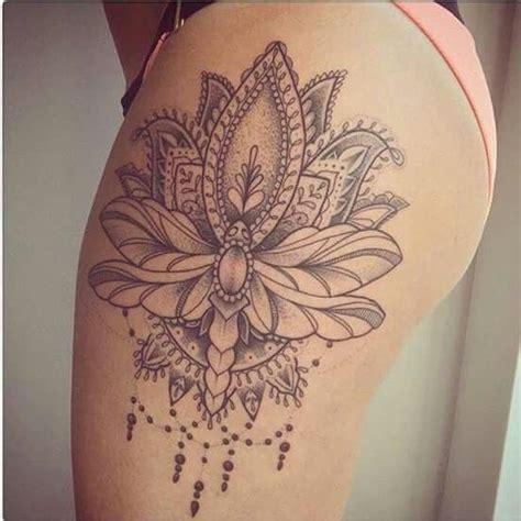 1000+ Ideas About Mandala Thigh Tattoo On Pinterest