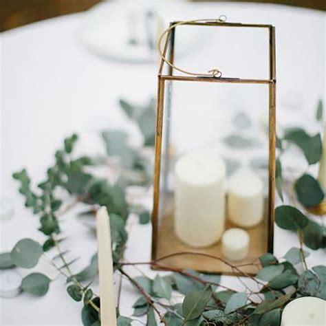 Gold Square Lanterns #weddingdecoration Wedding floral