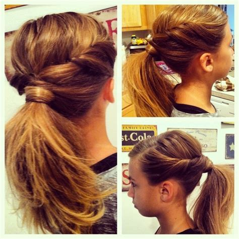 t ponytail hairstyles for hair 10 ponytail ideas summer and fall hairstyles for cute