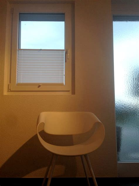 Sichtschutz Fenster Textil by Wei 223 Er Fenster Sichtschutz Mit Plissee Faltstores