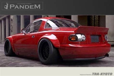 Shop N Drive Wiyung by Rocket Bunny Miata Na Duck Wing Je Import Performance