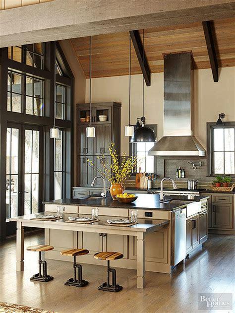 warm kitchen color schemes  homes gardens