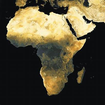 Africa Map Population Vaccination Process Ai Density