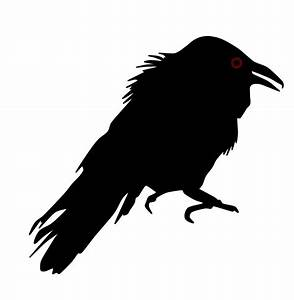 Image Gallery raven silhouette
