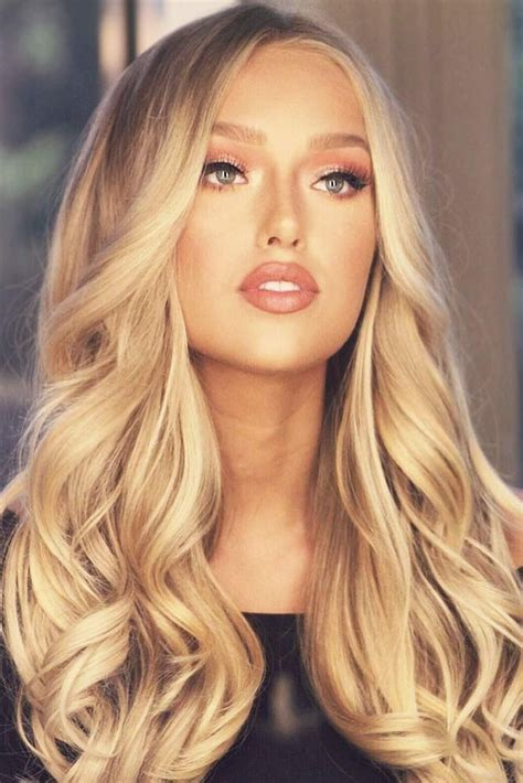 hair color     honey blonde coloring