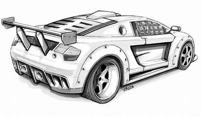 Sketch Supercar Supercars Motorstorm Msa Apocalypse Coloring