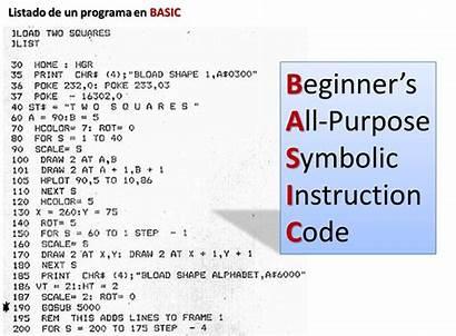 Basic Lenguaje Symbolic Code Instruction Purpose Beginner
